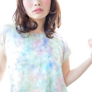 パンク ミディアム 春 モテ髪 ヘアスタイルや髪型の写真・画像