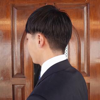 メンズ ツーブロック ショート 刈り上げ ヘアスタイルや髪型の写真・画像