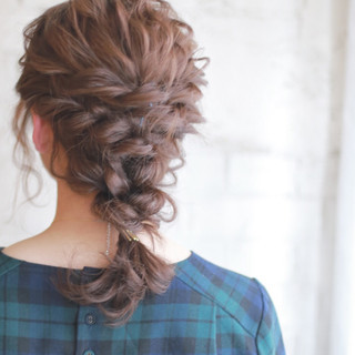 ストレート 成人式 ロング パーティ ヘアスタイルや髪型の写真・画像