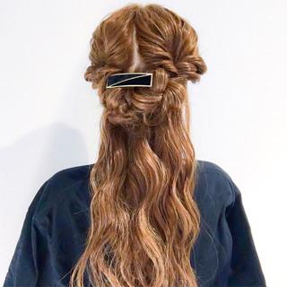 ヘアアレンジ 簡単ヘアアレンジ ロング 大人女子 ヘアスタイルや髪型の写真・画像