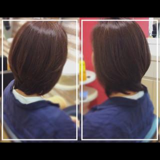 社会人の味方 髪質改善トリートメント ナチュラル 大人ヘアスタイル ヘアスタイルや髪型の写真・画像