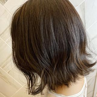 銀座美容室 ボブ 切りっぱなしボブ 20代 ヘアスタイルや髪型の写真・画像