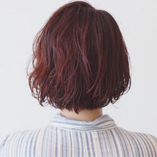 アンニュイ パーマ ウェーブ グラデーションカラー ヘアスタイルや髪型の写真・画像