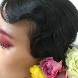 ロング 個性的 モード 福岡市 ヘアスタイルや髪型の写真・画像