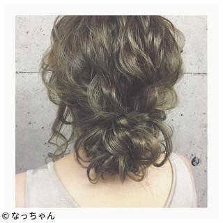 フェミニン デート パーティ ロング ヘアスタイルや髪型の写真・画像