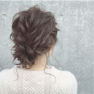 ヘアアレンジ ガーリー ミディアム 大人かわいい ヘアスタイルや髪型の写真・画像