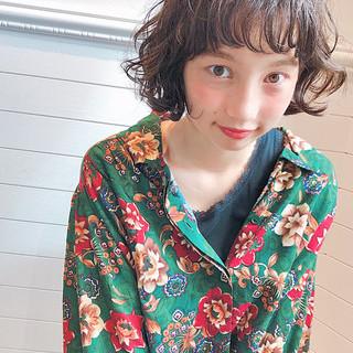 ヘアアレンジ ボブ 透明感 女子力 ヘアスタイルや髪型の写真・画像