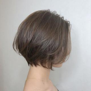 ハンサムショート ナチュラル ショート ショートボブ ヘアスタイルや髪型の写真・画像