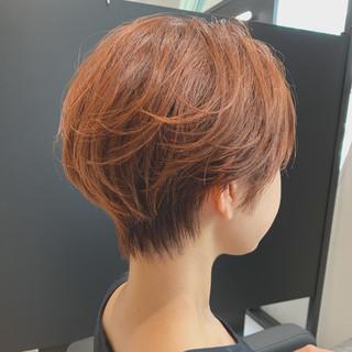 ベリーショート ミニボブ ショート ショートヘア ヘアスタイルや髪型の写真・画像
