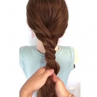 涼しげ ヘアアレンジ 簡単ヘアアレンジ 上品 ヘアスタイルや髪型の写真・画像 ヘアスタイルや髪型の写真・画像
