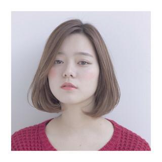 モテ髪 ナチュラル レイヤーカット 前髪なし ヘアスタイルや髪型の写真・画像