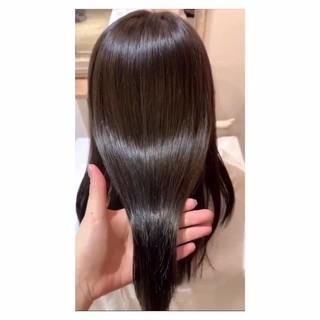 ナチュラル 髪質改善トリートメント 髪質改善 イルミナカラー ヘアスタイルや髪型の写真・画像