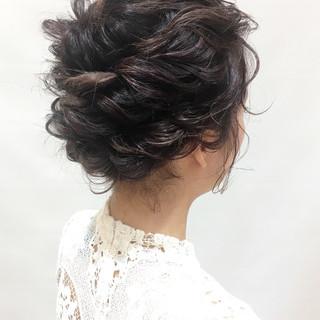 ヘアアレンジ デート パーティ フェミニン ヘアスタイルや髪型の写真・画像 ヘアスタイルや髪型の写真・画像