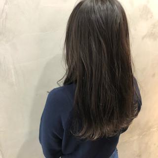 ヘアアレンジ 抜け感 透け感ヘア 黒髪 ヘアスタイルや髪型の写真・画像