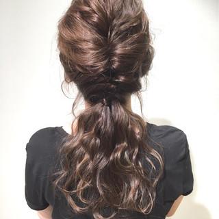 外国人風 ロング 大人かわいい ゆるふわ ヘアスタイルや髪型の写真・画像