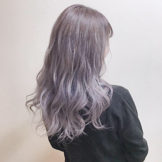 グラデーションカラー デート ガーリー 巻き髪 ヘアスタイルや髪型の写真・画像