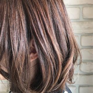 3Dカラー ダブルカラー ゆるふわ グラデーションカラー ヘアスタイルや髪型の写真・画像