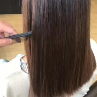 頭皮ケア 名古屋市守山区 セミロング 髪の病院 ヘアスタイルや髪型の写真・画像