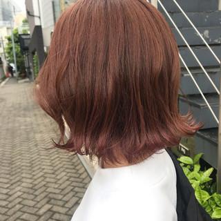 ストリート タンバルモリ 外ハネボブ ボブ ヘアスタイルや髪型の写真・画像