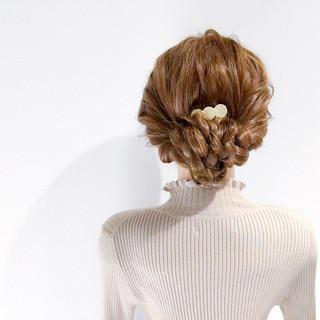 簡単ヘアアレンジ ロング デート 結婚式 ヘアスタイルや髪型の写真・画像 ヘアスタイルや髪型の写真・画像