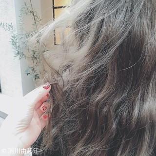 ロング ゆるふわ デート エレガント ヘアスタイルや髪型の写真・画像