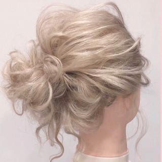 ヘアセット 簡単ヘアアレンジ エレガント ブライダル ヘアスタイルや髪型の写真・画像 ヘアスタイルや髪型の写真・画像
