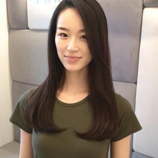 大人かわいい 黒髪 大人女子 デート ヘアスタイルや髪型の写真・画像