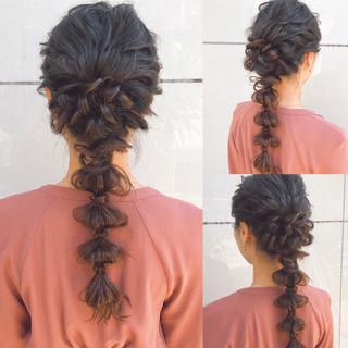 結婚式 ロング デート アンニュイほつれヘア ヘアスタイルや髪型の写真・画像 ヘアスタイルや髪型の写真・画像
