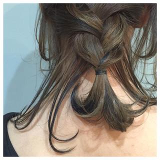グラデーションカラー ショート ストリート 外国人風 ヘアスタイルや髪型の写真・画像