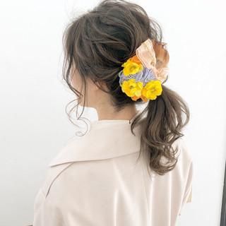 簡単ヘアアレンジ ヘアアレンジ デート スポーツ ヘアスタイルや髪型の写真・画像