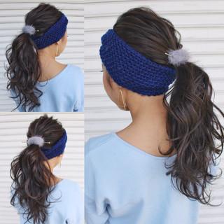 冬 大人女子 簡単ヘアアレンジ ショート ヘアスタイルや髪型の写真・画像