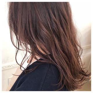 フェミニン ピンク 外国人風カラー ロング ヘアスタイルや髪型の写真・画像