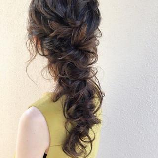 大人かわいい ヘアアレンジ ゆるナチュラル フェミニン ヘアスタイルや髪型の写真・画像