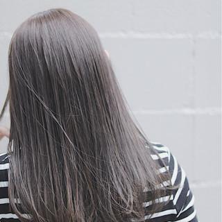 ロング オルチャン デート ナチュラル ヘアスタイルや髪型の写真・画像