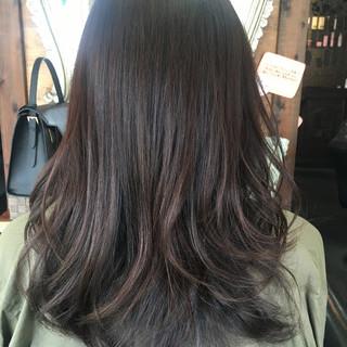 暗髪 ガーリー 外国人風 ブラウン ヘアスタイルや髪型の写真・画像