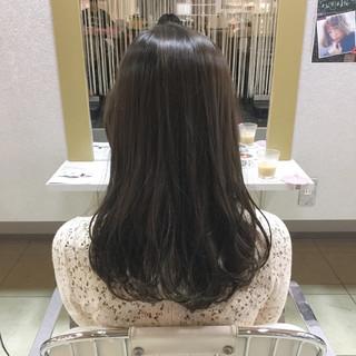 透明感 秋 アッシュ 外国人風 ヘアスタイルや髪型の写真・画像
