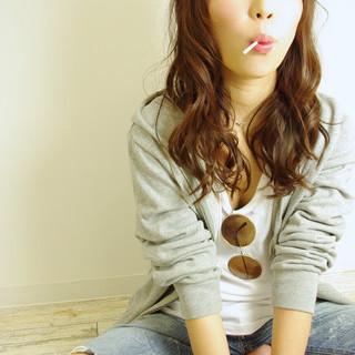 ロング 外国人風 ストリート ピュア ヘアスタイルや髪型の写真・画像