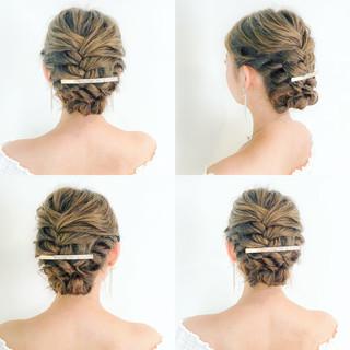 大人女子 エレガント 結婚式 愛され ヘアスタイルや髪型の写真・画像 ヘアスタイルや髪型の写真・画像