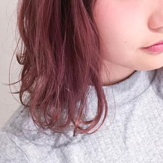 ナチュラル バレイヤージュ ミルクティー 前髪あり ヘアスタイルや髪型の写真・画像 ヘアスタイルや髪型の写真・画像