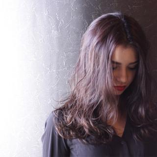 外国人風 ストリート モテ髪 セミロング ヘアスタイルや髪型の写真・画像 ヘアスタイルや髪型の写真・画像