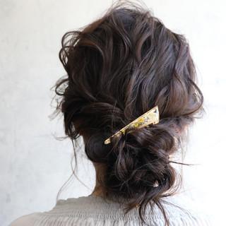 ヘアアレンジ 簡単ヘアアレンジ グレージュ ナチュラル可愛い ヘアスタイルや髪型の写真・画像