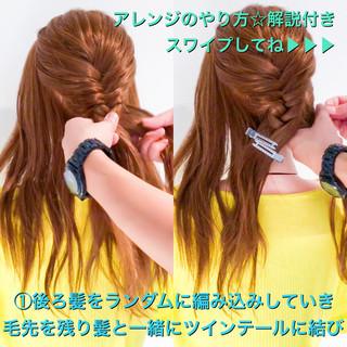 上品 ヘアアレンジ 簡単ヘアアレンジ ねじり ヘアスタイルや髪型の写真・画像