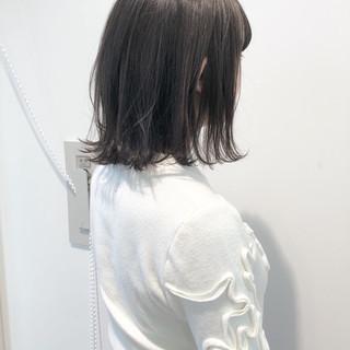 外国人風カラー ボブ 透明感 フェミニン ヘアスタイルや髪型の写真・画像
