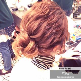ショート 簡単ヘアアレンジ セミロング 抜け感 ヘアスタイルや髪型の写真・画像