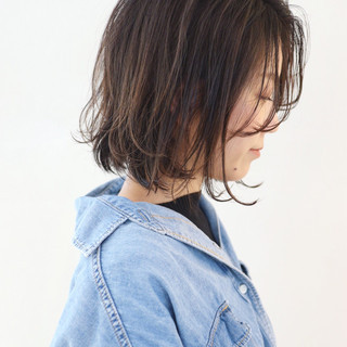 ハイライト グラデーションカラー ナチュラル グレージュ ヘアスタイルや髪型の写真・画像 ヘアスタイルや髪型の写真・画像