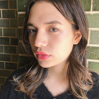 パーマ アンニュイほつれヘア デート 抜け感 ヘアスタイルや髪型の写真・画像