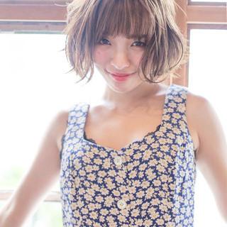 大人かわいい 抜け感 透明感 小顔 ヘアスタイルや髪型の写真・画像