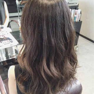 大人かわいい ゆるふわ フェミニン セミロング ヘアスタイルや髪型の写真・画像