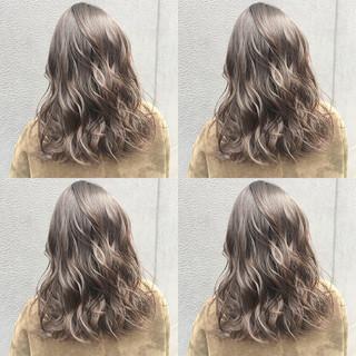 アッシュ 透明感カラー ヘアカラー 透明感 ヘアスタイルや髪型の写真・画像 ヘアスタイルや髪型の写真・画像