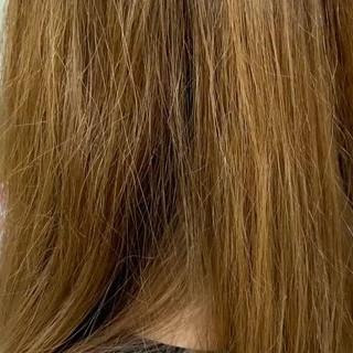 ヘアケア トリートメント セミロング ツヤ髪 ヘアスタイルや髪型の写真・画像